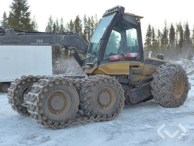 Eco log 580D Skördare - 12