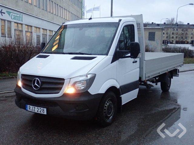 Mercedes Benz Sprinter 316 CDI Flak+Kran 4x2 Flak-lämmar (kran) - 17
