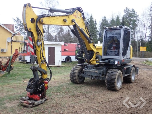 Wacker Neuson 9503 WD Hjulgrävare med tillbehör - 09