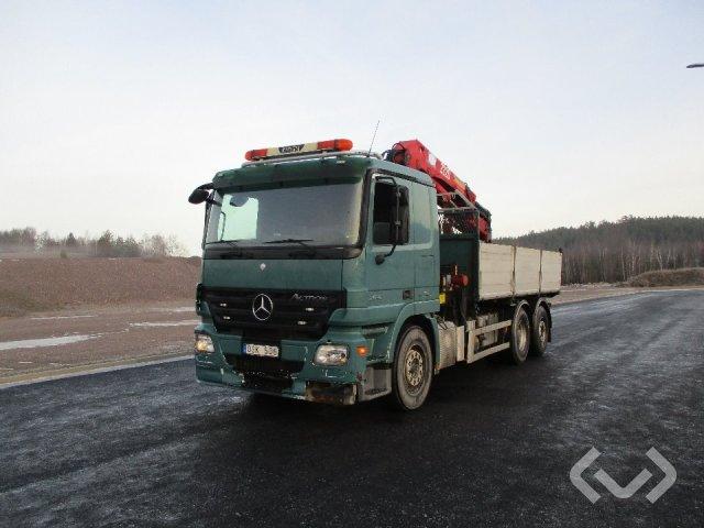 Mercedes 2546 L 6x2 Tippbil (kran) - 08