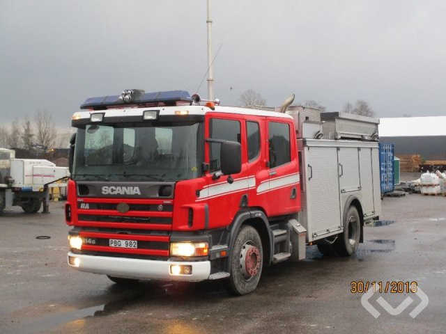 Scania P114GB NB340 4x2 Brandfordon (släckbil) - 00