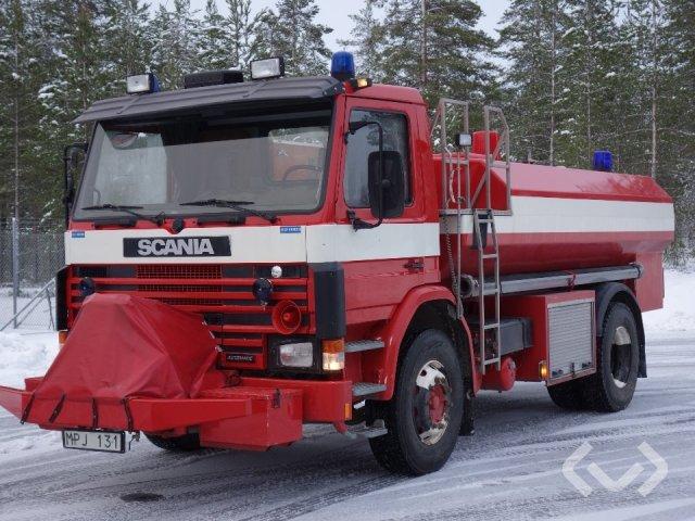 Scania P92M 38 4x2 Brandfordon - 86