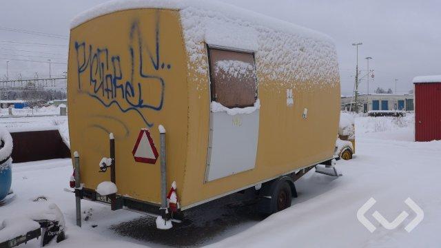 Norrlandsvagn 82-119D Manskapsvagn - 92