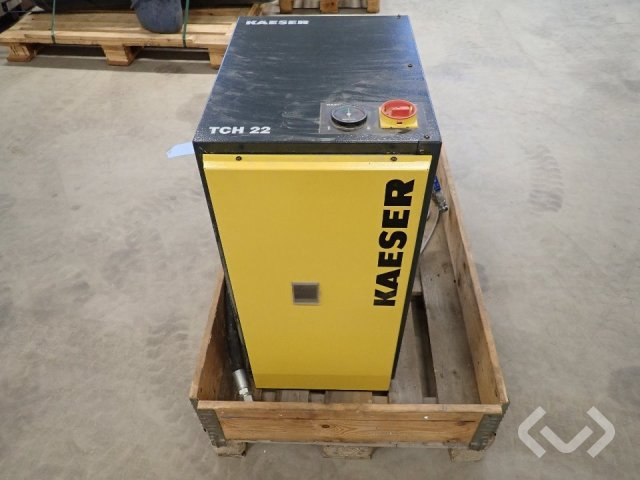 Kaeser/Aquamat Skruvkompressor med kyltork och tank