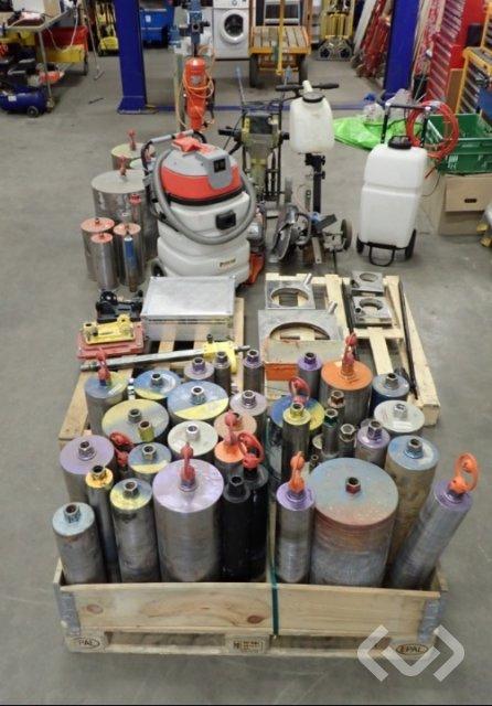 Weka, DR Bender mm Borrutrustning, betong mm