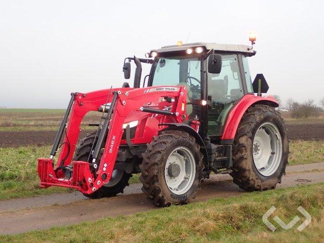 Massey Ferguson 5609 Traktor med frontlastare - 16