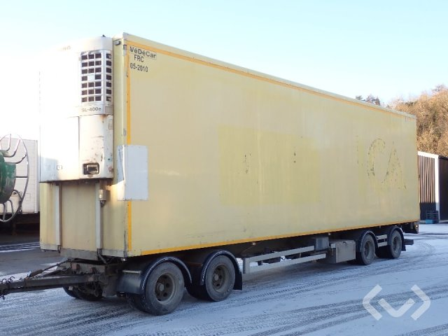 Renders RAC 16.20 4-axlar Skåpsläp (kylaggregat) - 04