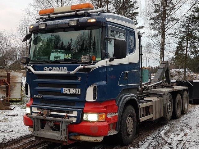 Scania R420LBHHA 8x2/4 Lastväxlare (flak) - 05