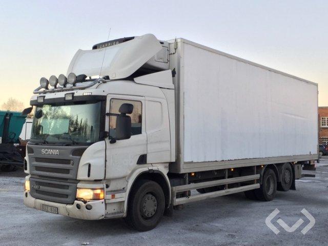 Scania P420LB MNB 6x2*4 Skåp (kylaggregat+bg-lyft) - 09