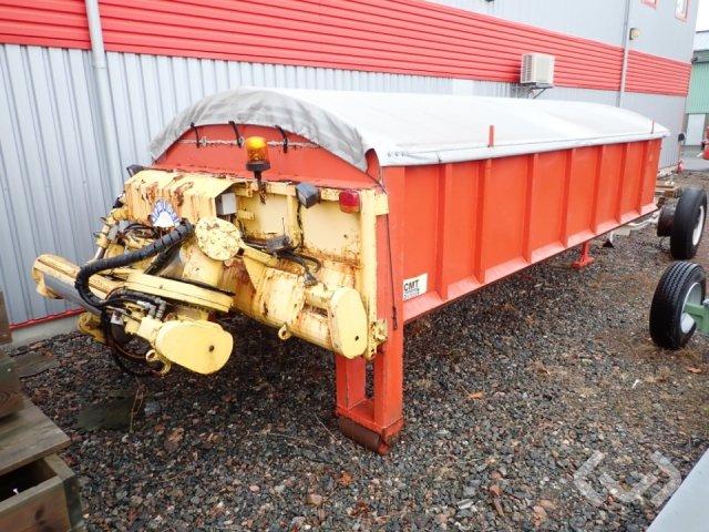 CMT ALR-01 Lastväxlarflak med asfaltsspridare - 06
