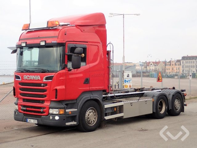 Scania R560LB HNB 6x2*4 Lastväxlare - 12