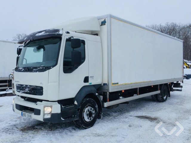 Volvo FL280 (Euro 5) 4x2 Skåp (bg-lyft) - 09