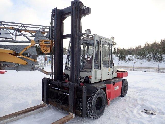 Kalmar DB 7,5-600 motviktstruck (diesel) - 85