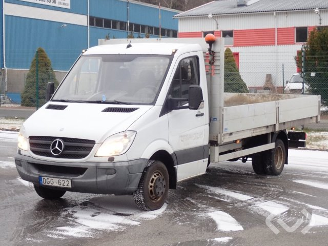 Mercedes 516 CDI (Euro 5) 4x2 Flak-lämmar - 11