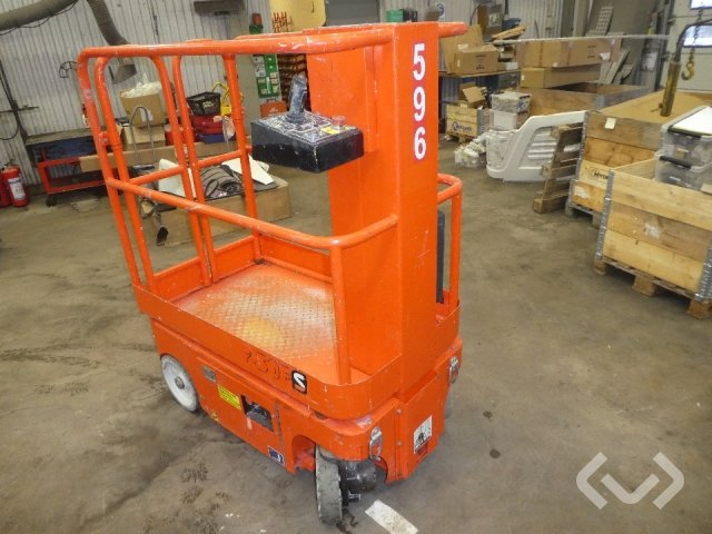 Snorkel TM1230E Pelarlift - 11